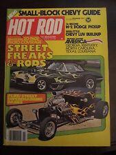 Hot Rod Magazine November 1977 Street Freaks Rods Dodge Pickup CC FF C1 AR LL Z6