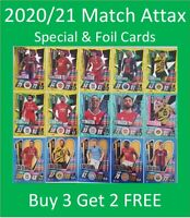 2020/21 Match Attax UEFA Cards - Special, Foil & Update Cards - Buy 3 Get 2 FREE