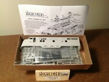 Highliners HO F-Series A-Unit Shell Kit 1001 Athearn Genesis Undecorated