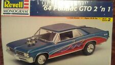64 Pontiac Gto 2n1 / Factory Sealded in Plastic / 1:24 Revell / Monogram 1293