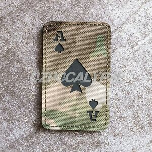 Ace of Spades Patch - army tactical molle gear pack military amcu multicam dpcu
