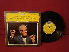 LUDWIG VAN BEETHOVEN SINFONIE Nr5 C-MOLL-C MINOR-UT MINEUR VERY RARE NM 10 IN LP