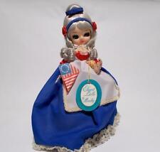 Vintage Bradley Betsy Ross Doll Big Eye Bicentennial