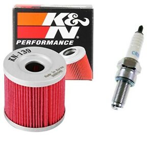 Tune Up Spark Plug K&N Oil + Filter Suzuki DRZ400 DRZ 400 S E SM Kawasaki KLX