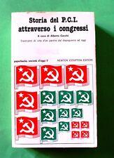 Storia del P.C.I. attraverso i congressi - 1^ Ed. Newton Compton 1977
