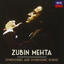 Zubin Mehta Symphonies and Symphonic Poems Audio CD