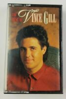 The Best Of Vince Gill Cassette Tape 1989 RCA
