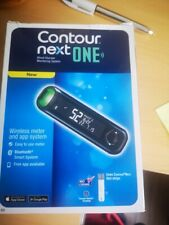 Contour Next One Blood Glucose Monitor System Wireless USB Meter & starter pack