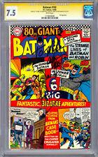 BATMAN #182 CGC-SS 7.5 *SIGNED ADAM WEST & BURT WARD* ORIG BATMAN & ROBIN 1966