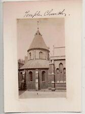 Vintage CDV The Temple Church London England