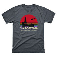 3.6 Roentgen Not Great Not Terrible Vintage Men's Tee Retro Cotton Shirt