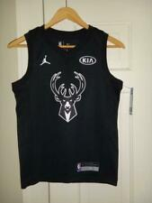 Youth Nike Jordan Giannis Antetokounmpo Bucks Black All Star Swingman Jersey S