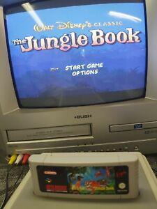 Genuine Disney's The Jungle Book Super Nintendo SNES Video Game