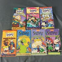 Lot of 7, Nickelodeon Rugrats VHS Tommy Pickles Chuckie
