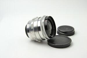 Carl Zeiss Jena Flektogon 2.8/35 M42 lens Silver S/N 4924341