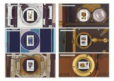 France 2014 Vintage Cameras Photographic Devices Stamp Mini Sheets Set of 6 MUH