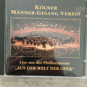 "KÖLNER MÄNNER-GESANG-VEREIN: ""Aus der Welt der Oper"" (CD TMK 005454 / neu)"