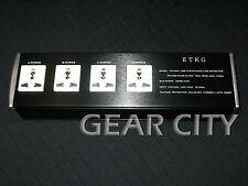 pbs04 4 Outlet Mains Power Filter Strip AU EU UK US Plug Socket 110-240V HiFi