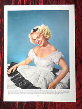 """BETTY HUTTON  - FILM STAR - 1 PAGE PICTURE -"""" CLIPPING / CUTTING""""  - #2"""