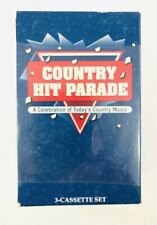 COUNTRY HIT PARADE 3-CASSETTE BOX SET A CELEBRATION OF TODAYS COUNTRY MUSIC NEW