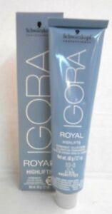 Schwazkopf IGORA ROYAL HIGH LIFTS Professional Hair Color Creme ~ 2.1 fl. oz.!!