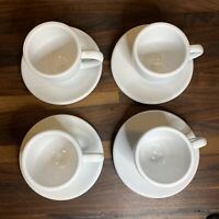 Coffee Bar by Konitz - Set of 4 Espresso cup & Saucer Ceramic