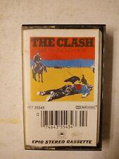 The Clash - Give 'Em Enough Rope - Cassette Album 1979