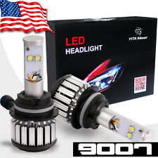 2pcs 9007 HB5  LED Headlight Bulb 80W 8000LM 6000K HID White High Low Beam