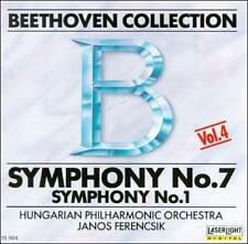 Audio CD Beethoven Collection 4: Symphonies 7 & 1  - Free Shipping