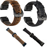 Leather Band Bracelet Watch High Grade Wrist Strap For Garmin Fenix 5 /Fenix 5X