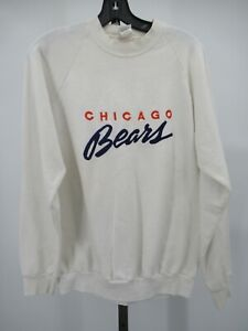 H1262 VTG 80s 90s Chicago Bears NFL-Football Sweater Made in USA Size XL