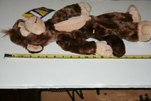 "NEW BUILD A BEAR WORKSHOP 18"" Cheerful Monkey Unstuffed New With Tags"
