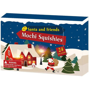 Advent Calendar Mochi Squishies Cute Animal Toy Kits for Kids Xmas Gift