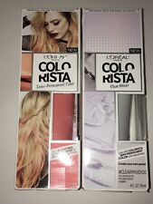 Set Of L'Oreal Colorista Clear Mixer & PEACH100 Semi Permanent Hair Color New