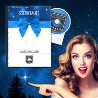 Premium Sterntaufe mit Online-Registereintrag. Sterntaufen der Starfinder Coop.