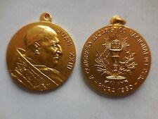 Vaticano medaglia papa Giovanni XXIII VI congresso eucaristico Perù 1960