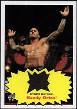 CO 2012 Topps Heritage WWE Shirt Relics #10 Randy Orton