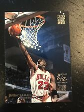 1993-94 Topps Stadium Club Michael Jordan #1 Triple Double - Chicago Bulls HOF