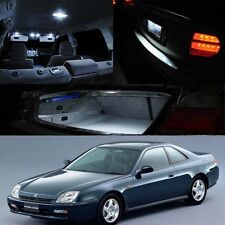 97-01 Prelude White Xenon Interior LED Bulb Package (Map Door Dome Trunk Plate)