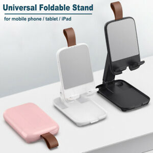 Portable Phone Tablet Holder Foldable Desk Stand For iPhone 12 11 iPad Samsung