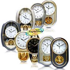 PSV Luxury Gold Plated Pendulum Wall Gift Clock