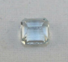 NATURAL AQUAMARINE OCTAGON CUT 4X4MM LOOSE GEMSTONE FACETED GEM 0.25CT AQ5C