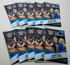 2017 Topps WWE Then, Now, Forever Hobby Pack x10 Lot Unsearched Wrestling Cards