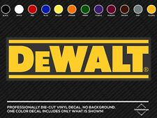 "DeWalt Tools Tool USA Car Bumper Window Tool Box Sticker Decal 8""X2.5"""