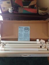 Q-SNAP PVC QUILTING FRAME FLOOR MODEL 31.5 INCHES TALL IN ORIGINAL BOX!