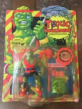 Playmates Toxic Crusaders Toxie Figure, Unopened (Damaged/Dirty Bubble and Box)