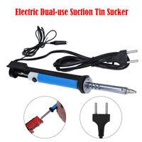 220V 30W Electric Desoldering Iron Pump Vacuum Solder Tin Sucker 30 watt EU plug