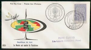 Mayfairstamps MALI FDC 1962 COVER WORLD UNITED AGAINST MALARIA wwi93293