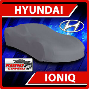 [HYUNDAI IONIQ] CAR COVER - 100% Ultimate Full Custom-Fit All Weather Protection