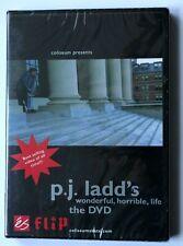 """Flip Coliseum Skate """"P.J. Ladd'S Wonderful Horrible Life"""" video Dvd, New, Rare"""